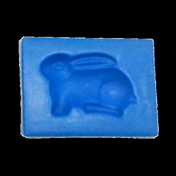 黏土壓模(兔子)