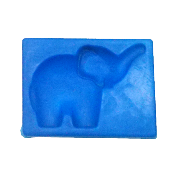 黏土壓模(大象)