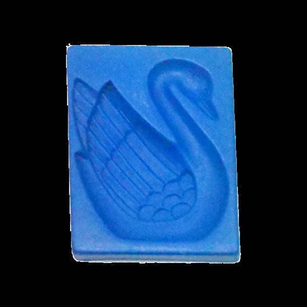 黏土壓模(天鵝)