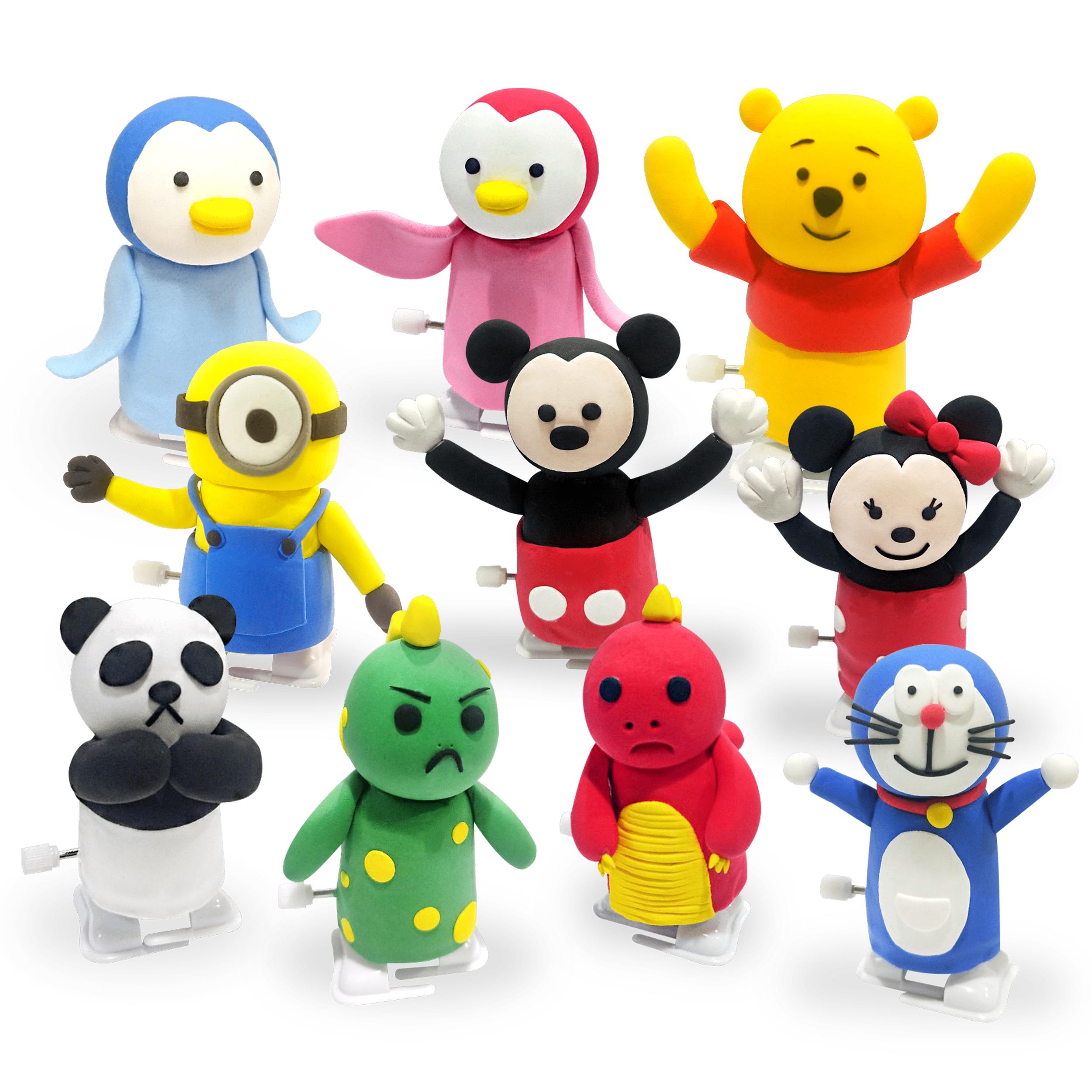 角色走路玩具-DIY組合