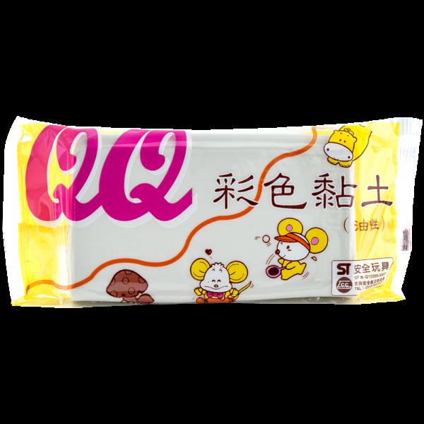 QQ彩色油土(白)