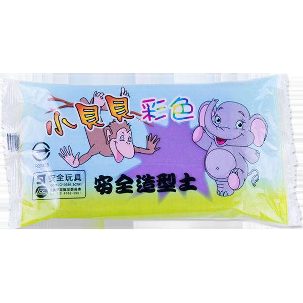 小貝貝彩色紙黏土(紫)