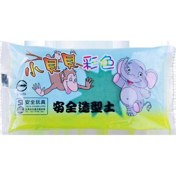 小貝貝彩色紙黏土(綠)