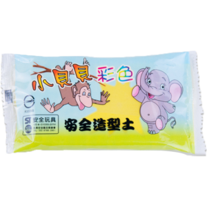 小貝貝彩色紙黏土(黃)