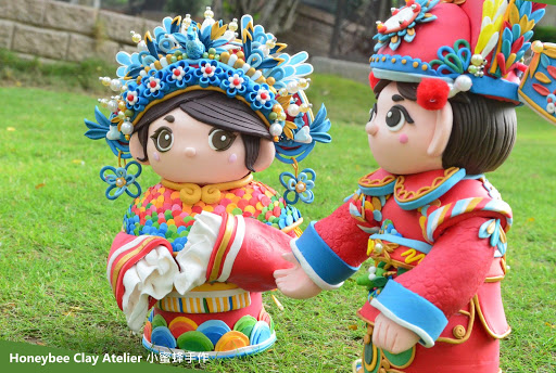 中式婚禮娃娃